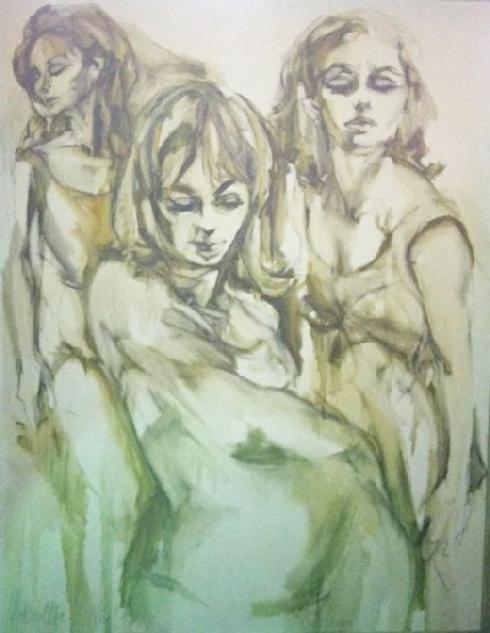"""THREE WOMEN"" HYACINTHE"