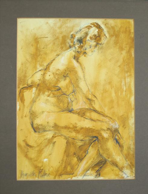 study of female nude